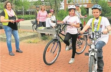 Fahrradprüfungen in der GS Fürstenau