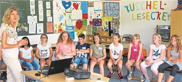 Medienkompetenztraining in der Grundschule Fürstenau