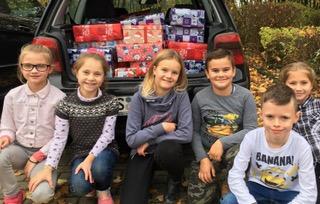 Kinder helfen Kindern – der Weihnachtskonvoi